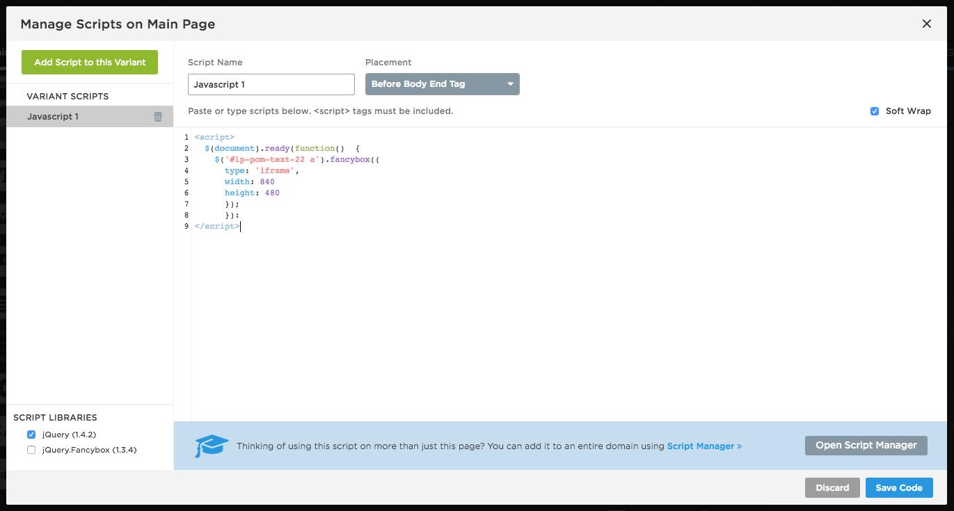 Cómo añadir y editar botones y páginas de confirmación – Documentación
